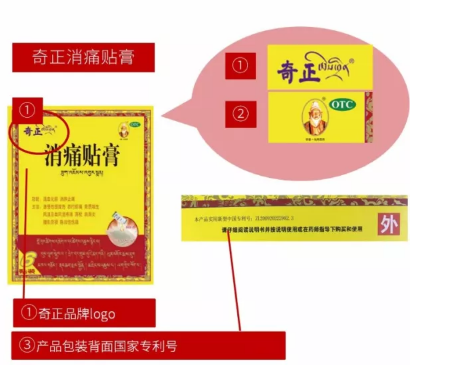 哪种奇正消痛贴膏防伪标识是真的,你了解了吗