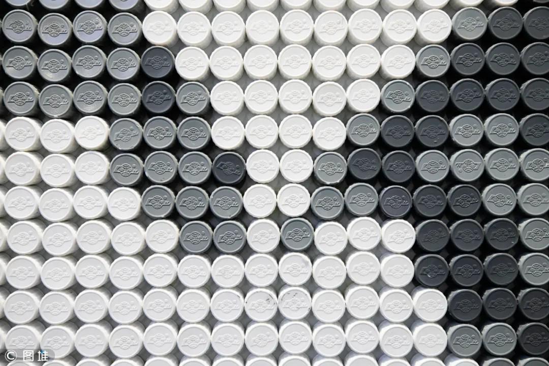 """鲁南制药集团展览馆赵志全同志巨幅人像图案荣获""""大世界基尼斯之最""""认证"""